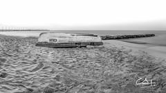 So quiet.. (Gallitosoto2) Tags: blackandwhite panorama beach monochrome beautiful landscape mexico outdoor neutraldensity autopanopro x100t bowernd8stops