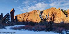 Roxborough State Park, Colorado (OJeffrey Photography) Tags: park panorama snow sunrise nikon colorado state pano co redrocks springtime d800 roxborough jeffowens ojeffrey ojeffreyphotography