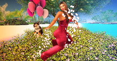 Majesty- The Joy Of Spring (Ebony (Owner Of Majesty)) Tags: woman fashion female spring women feminine femme queen fancy females hautecouture miss mistress fashionista couture jian domme dainty majesty queenofhearts womensfashion littlebones cynful labelmotion hayabusadesign ebonycyberstar