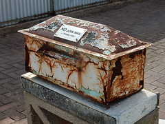 Crusty Letterbox (mikecogh) Tags: mailbox rust peeling character worn letterbox crusty seaton