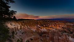 A Bryce Canyon Landscape (r a y  b r o w n) Tags: mountains dusk bryce brycecanyon brycecanyonnationalpark