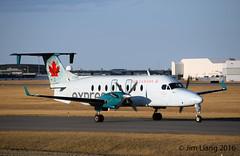 Beechcraft 1900D (gdd814) Tags: calgary airport nikon aviation beechcraft spotting yyc aircanada 55200mm 1900d cyyc b190 airgeorgian d3300 aircanadaexpress