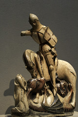 St George slaying the Dragon (Lawrence OP) Tags: england english saint washingtondc george dominican dragon saints nationalgallery martyr patron alabaster