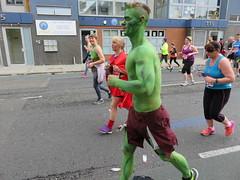 UK - London - Maze Hill - London Marathon 2016 - Fun runners (JulesFoto) Tags: uk england london greenwich running greenman mazehill londonmarathon2016