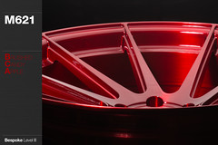m621-brushed-candy-apple (AG Wheels) Tags: red apple wheel flow design paint candy stage painted coat spoke spokes wheels powder finish designs form rim rims avant garde multi forged rotary concave finishing brushed avantgarde bespoke flowform directional m621 rotational powdercoat agwheels