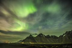 Iceland - Stokksnes Aurora (Robert Phan Photography) Tags: nightphotography mountain night iceland aurora northernlights mountainrange d810 stokksnes nikond810 wwwrobertphanphotographycom tamron1530
