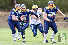 "GFL2 Hildesheim Invaders vs. Assindia Cardinals (Testspiel) 24.04.2015 017.jpg • <a style=""font-size:0.8em;"" href=""http://www.flickr.com/photos/64442770@N03/26647801896/"" target=""_blank"">View on Flickr</a>"