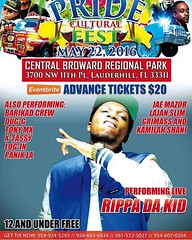 MAY 22nd--- I will be putting the stadium in #Motion for the  at Central Broward Regional Park! the 6 Event Haitian Pride Cultural Fest is going DOWN!!!! Bassin Bleu Water Park/Pool Party will be the BIGGEST water event for adults only with @TonyMi (rippadakid) Tags: music art diy artist dope