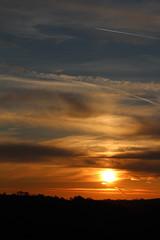 Portrait Sky (Scott Slater Photography) Tags: camera uk sunset summer sky cloud dog sun sunshine set skyline clouds digital sunrise canon evening spring cloudy britain derbyshire great dslr sundog helper 650d