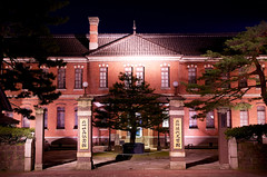 Former Main building of 4th High School (ELCAN KE-7A) Tags: school building japan museum high memorial pentax main illumination 4th property  exchange kanazawa cultural important ishikawa  2016       prefectural     k5s