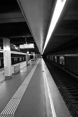 Station (heiko.moser) Tags: city bw blancoynegro station canon underground mono noiretblanc bahnhof nb ubahn sw monochrom schwarzweiss nero schwarzweis blackwihte heikomoser