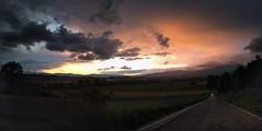 Casentino Sunset (-= Trevio =-) Tags: sunset panorama tramonto casentino panorami