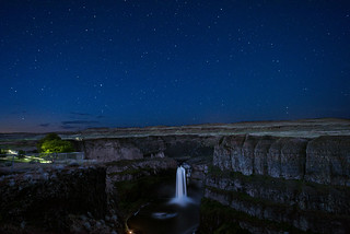 Palouse Falls Evening
