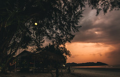(Richard Strozynski) Tags: ocean sunset people beach nature thailand asia south east laos koh phayam