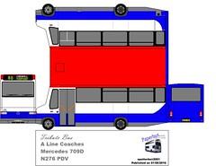 N276 PDV (spotterboii2001) Tags: bus ex mercedes cornwall go plymouth line tribute pcb millbrook coaches rame dda citybus pui liskeard gobus paperbus 6627 a vya cremyll 709d m242 n276pdv m242vya pui6627 spotterboii2001 raybrandon