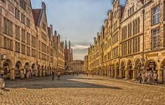 Mnster Prinzipalmarkt (KJ Photographie) Tags: street sky shopping germany landscape deutschland nikon europa sommer himmel wolken tourist landschaft mnster prinzipalmarkt strase