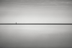 walking in straight lines (stocks photography.) Tags: blackandwhite bw white black beach monochrome photography coast blackwhite seaside photographer stocks whitstable tankerton thestreet stocksphotography michaelmarsh