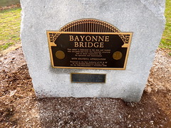 Bayonne Bridge plaque (quiggyt4) Tags: christmas nyc newyorkcity cruise lighthouse newyork church denmark newjersey rainbow construction jerseycity holidays chelsea pyramid cathedral manhattan library 911 nj nypl 5thavenue gehry midtown whitney danish hudsonriver wtc newark rainbows trumptower september11 donaldtrump fifthavenue trump saks doublerainbow frankgehry birdwatching verrazanobridge hoboken bayonne whitneymuseum highline meatpacking gansevoort nycskyline portauthority weehawken durst verrazano september11thmemorial ronpaul ows bayonnebridge newarkbay occupy panynj iacbuilding tearofgrief 1wtc bjarkeingels hudsoncountynj constablehook occupywallstreet norweiganbreakaway