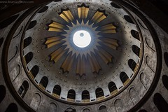Church Of The Holy Sepulchre (BrianGoPhoto) Tags: church israel jerusalem dome 365 churchoftheholysepulchre oldcity 366 holysepulchre project365 oldcityofjerusalem project366