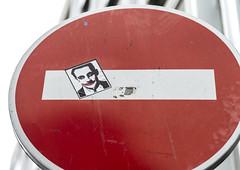 by ? (Sbastien Casters) Tags: street streetart paris france graffiti sticker sarkozy graffitis
