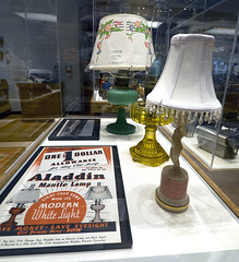 Minnetrista 07-21-2015 - My Collections Exhibit 21 - Madison County Historical Society Aladdin Lamps (David441491) Tags: collection lamps aladdin muncie collect kerosene minnetrista
