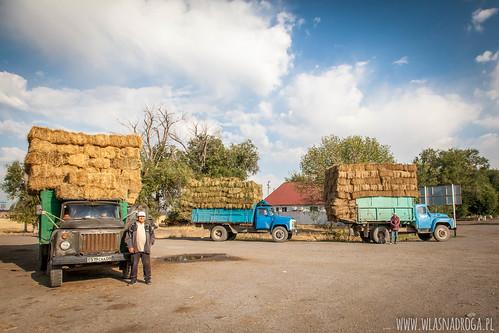 Droga z Almaty do Kirgistanu