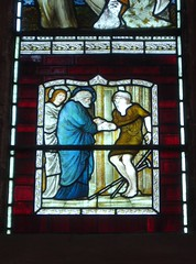 Healing the Lame (Aidan McRae Thomson) Tags: church window stainedglass cumbria priory preraphaelite lanercost burnejones morrisco