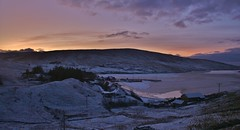 Last Light  IMG_6676 (Ronnierob) Tags: snow voe shetlandisles