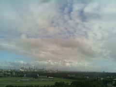 Sydney 2016 Feb 06 09:08 (ccrc_weather) Tags: morning sky outdoor sydney australia automatic kensington feb unsw weatherstation 2016 aws ccrcweather