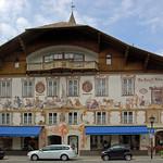 Oberammergau - Ortsmitte (15) - Geburtshaus von Ludwig Thoma thumbnail