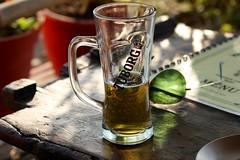 Beer Time (rajeev maskey) Tags: nepal beer sunglasses drink relaxing pokhara chill tuborg fewalake touborg