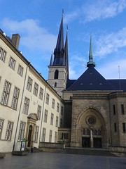 Notre-Dame Cathedral, Luxembourg (wattallan594) Tags: city travel europe luxembourg notre dame cathdral