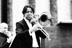 Brandt Attema (Petar Stoykov) Tags: portrait people canon photography eos concert photoshoot performance denhaag portraiture classical brandt trombone pho classicalmusic highiso 135mm musicinstrument basstrombone 6d 2470mm brandtattema 1dmk3 1dmark3 tenortrombone kctromboneclass