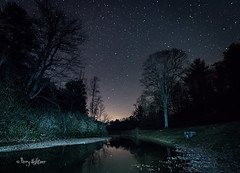 Big Dipper Above Rake's Mill Pond Blue Ridge Parkway (Terry Aldhizer) Tags: blue reflection mill night stars big pond ridge rake parkway terry dipper rakes aldhizer terryaldhizercom