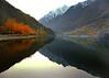 Khalti Lake (NotMicroButSoft (Fallen in Love with Ghizar, GB)) Tags: autumn pakistan lake nature gb hindukush ghizar kaashmir khaltilake khalti gilgitbaltistan