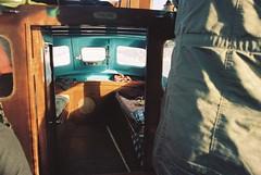 light in the cabin. (Kevin Orbitz) Tags: life blue light film colors analog 35mm photography boat fishing warm scene calm ishootfilm lightleaks 35mmfilm analogue analogphotography 35mmphotography kodakfilm filmphotography portra400 colorfilm filmroll kodakportra400 kodakportra filmburn filmisnotdead analoguephotography portrafilm westillshootfilm