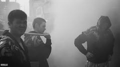 The Year of the Monkey (Mark Holt Photography - 4 Million Views (Thanks)) Tags: blackandwhite monochrome liverpool chinatown candid smoke chinesenewyear newyear firecrackers yearofthemonkey