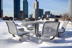25/366 - Winter Gathering (Jakub Wil.) Tags: plaza new york city nyc winter snow ny storm photo nikon day queens jetblue 365 jonas blizzard challenge 2016 366 d5100
