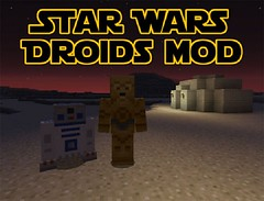 Star Wars Droids Mod 1.8 (MinhStyle) Tags: game video games gaming online minecraft