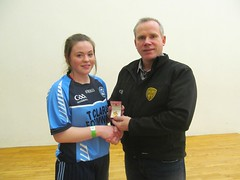 Girls U17 Final Winner Presentation Cloideach Donaghy