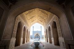 Jameh mosque, Esfahan (D A Scott) Tags: iran islam persia mosque esfahan islamic jameh