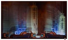 souldrain (Konec.Japonec) Tags: motion building night movement construction long exposure prague crane blurred praha vehicles ghosts waterworks holeovice istika