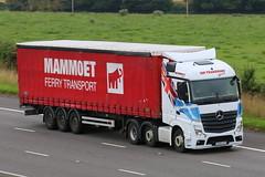 YE64AYV - JHP Transport (TT TRUCK PHOTOS) Tags: mercedes mp4 lockerbie actros jhp a74m