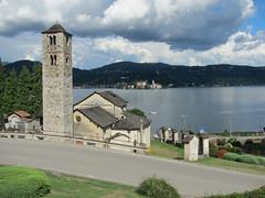 Pella (No) - Chiesa di San Filiberto (Sec. X) (frank28883) Tags: lago chiesa campanile pella sagrato lagodorta viacrucis novara cusio ortalake complessomonumentale