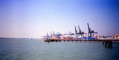 Port 01 (The original SimonB) Tags: film port suffolk july scanned 1991 felixstowe