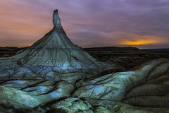 En la noche... (La Cueva del Arte (LCdA)) Tags: naturaleza nocturna navarra bardena castildetierra