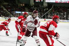 Hockey vs. BU (dailycollegian) Tags: umass bostonuniversity collegehockey umasshockey shannonbroderick williamlagesson