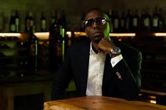 Ezze Whinery (S R V A S Q U E Z | instagram @DOSARTE) Tags: portrait male dark model voice shades suit tux whine ezequiel ezze