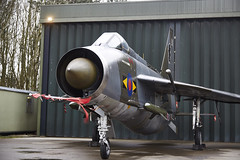 Lightning (Bernie Condon) Tags: plane vintage flying fighter aircraft military jet british lightning lpg preserved ee raf warplane bac interceptor supersonic englishelectric bruntingthorpe