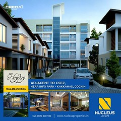 A haven ideal for lovers of comfort, luxury and elegance - Nucleus Heyday, Kakkanad! Call +91 9020 300 100.  #Kerala #Kochi #India #Kottayam #Architecture #Home #Construction #City #Elegance #Environment #Elegant #Building #Beauty #Beautiful #Exquisite #I (nucleusproperties) Tags: life city india building home nature beautiful beauty architecture design living construction realestate view apartment interior gorgeous lifestyle style atmosphere kerala villa environment elegant exquisite comfort luxury kochi elegance kottayam